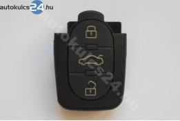 Audi 3 obal s tlačítkem oválný dolní strana