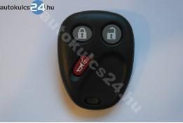 Chevrolet 3 obal dálkového ovládání s tlačítkem