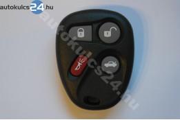 Chevrolet 4 obal dálkového ovládání s tlačítkem