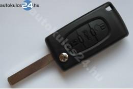 Peugeot 3 obal vystřelovacího klíče s tlačítkem VA2 #2