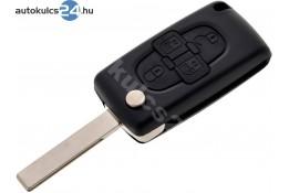 Citroen 4 obal vystřelovacího klíče s tlačítkem HU83