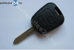 Citroen 2 klíč s tlačítkem SX9 433Mhz ID46