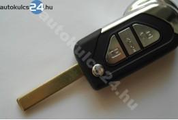 Citroen 3 obal vystřelovacího klíče s tlačítkem HU83 další #2