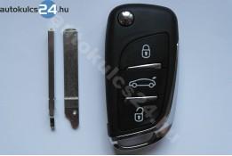 Citroen 3 obal vystřelovacího klíče s tlačítkem VA2