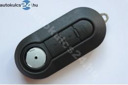 Fiat 3 obal vystřelovacího klíče s tlačítkem černá