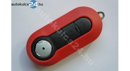 Fiat 3 obal vystřelovacího klíče s tlačítkem červená