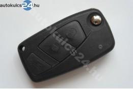 Fiat 3 obal vystřelovacího klíče s tlačítkem