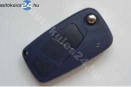 Citroen 3 obal vystřelovacího klíče s tlačítkem modrý boční baterie
