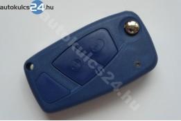 Fiat 2 obal vystřelovacího klíče s tlačítkem modrý