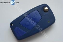 Fiat 3 obal vystřelovacího klíče s tlačítkem modrý