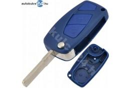 Fiat 2 obal vystřelovacího klíče s tlačítkem modrý boční baterie