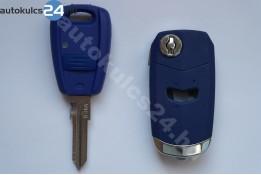 Fiat 1 přestavba na vystřelovací klíče s tlačítkem #3