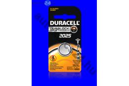 Duracell CR2025 lithium baterie
