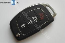 Hyundai 3+1 obal vystřelovacího klíče s tlačítkem