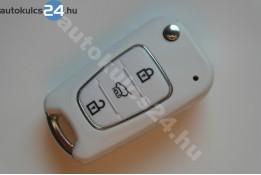 Kia 3 obal vystřelovacího klíče s tlačítkem bílá