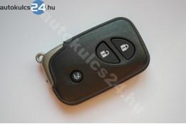 Lexus 3 obal dálkového ovládání s tlačítkem