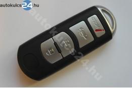Mazda 3+1 zásuvný klíč s tlačítkem