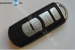 Mazda 4 zásuvný klíč s tlačítkem