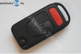 Mercedes 2 obal vystřelovacího klíče s tlačítkem panic spínače #2