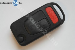 Mercedes 2 obal vystřelovacího klíče s tlačítkem panic spínače