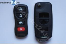 Nissan 4 přestavba na vystřelovací klíče s tlačítkem