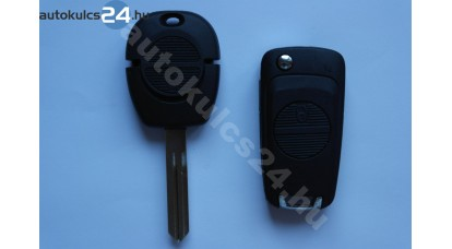 Nissan 2 přestavba na vystřelovací klíče s tlačítkem A33
