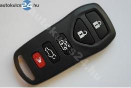 Nissan 5 obal dálkového ovládání s tlačítkem