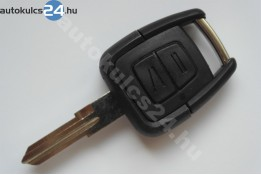 Opel 2 klíč s tlačítkem(pravostranný)