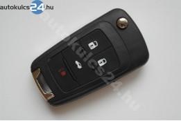 Chevrolet 4 obal vystřelovacího klíče s tlačítkem