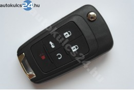 Chevrolet 5 obal vystřelovacího klíče s tlačítkem