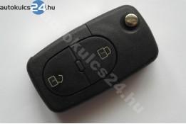 Audi 2 obal vystřelovacího klíče s tlačítkem oválný